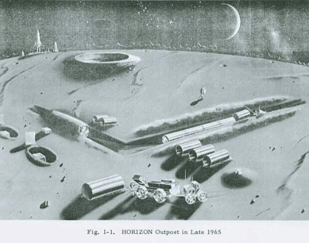 Как США военную базу на ЛУНЕ строили