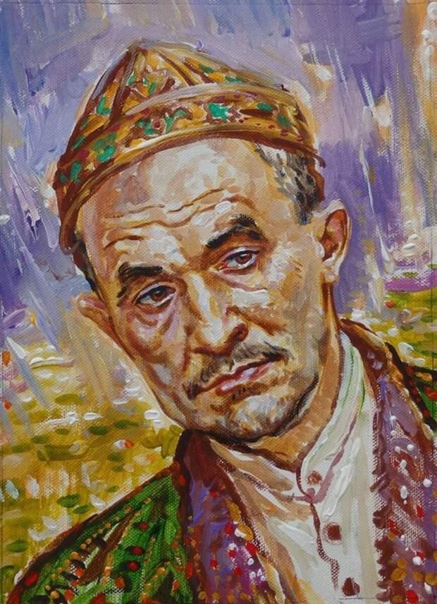 не смог удержать трон касимовский хан Шах-Али.. (художник А. Сайфутдинов, РТ)