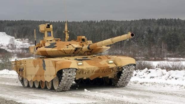 Т-90МС и Т-14 «Армата» пойдут в армию РФ небольшими партиями