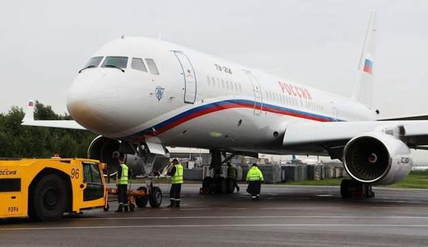 Специальный лётный отряд «Россия» получил ещё два новых самолёта Ту-214ПУ