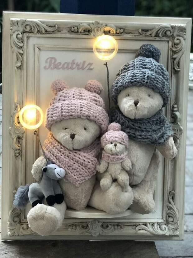 Медвежьи семейные портреты