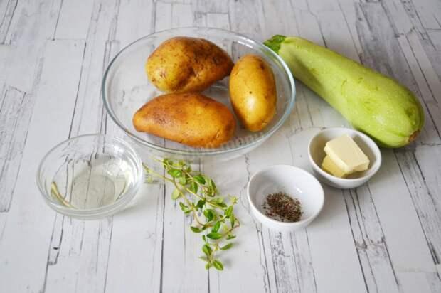 Настоящее объедение: дрожжевой открытый пирог из молодой картошки и кабачков)