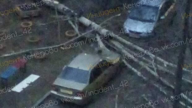 На Кемерово обрушился ураган