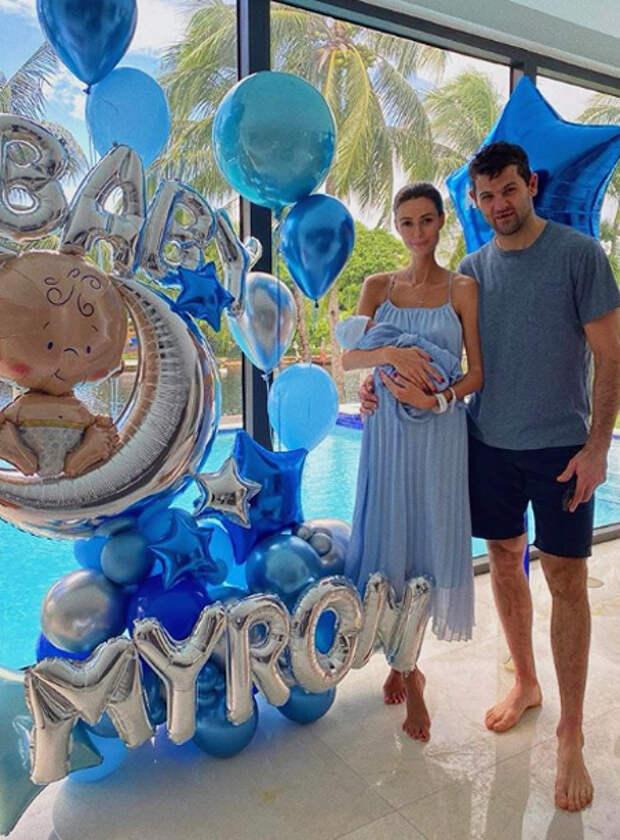 Хоккеист Александр Радулов и его девушка Анна Бокий стали родителями