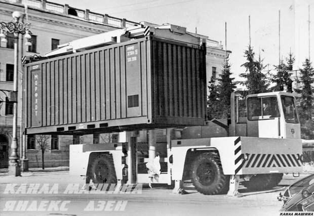 Погрузчик морских контейнеров модели «7806»
