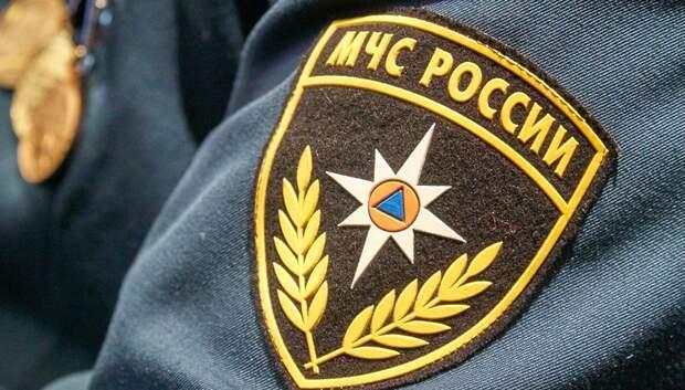 В Подольске потушили пожар в строении на Почтовой улице