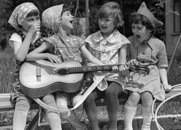 Про песни нашего двора