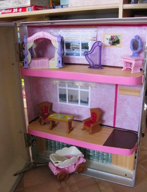 10. Домик для игрушек Фабрика идей, дизайн, интересно, места для хранения, полезно, фото