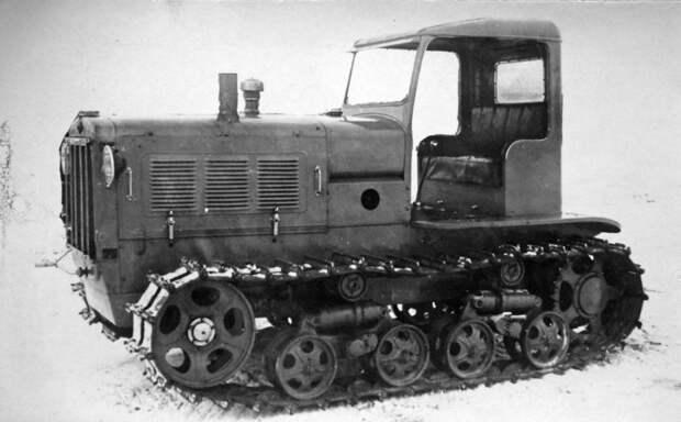 Трактор СХТЗ-НАТИ, послуживший базой для бронетрактора ХТЗ-16 - Импровизация в промышленных масштабах | Военно-исторический портал Warspot.ru