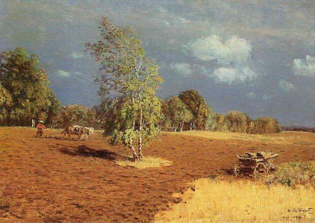 Николай Никанорович Дубовской. После грозы, 1897