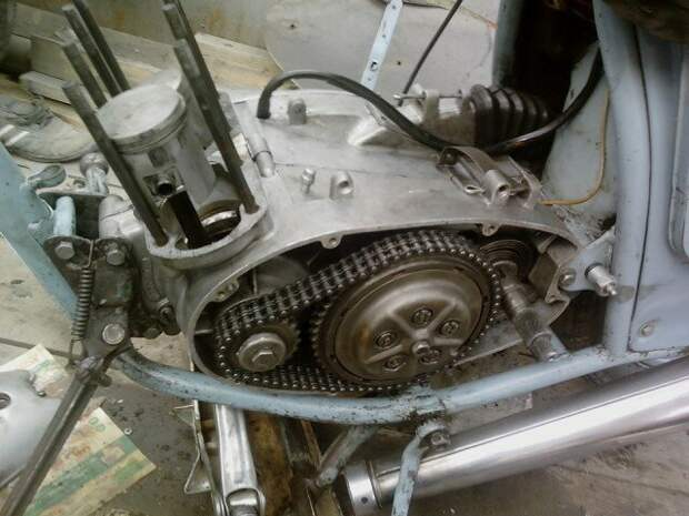 Восстановление: ИЖ-Юпитер 2К 1969 года рождения воссановление, мото, реставрация