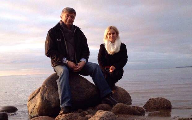 Александр Сокуров и Тина Мастафова