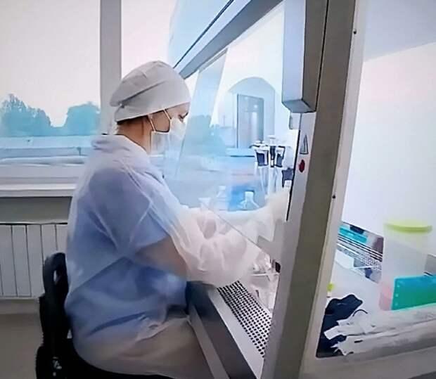 """В РФ зарегистрировали первый в мире тест на """"британский"""" штамм корнавируса"""