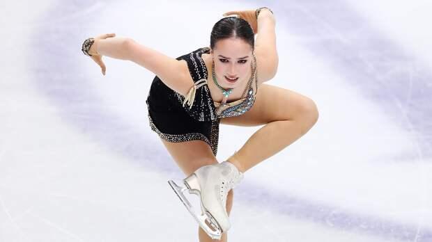 Загитова вышла вфинал вборьбе зазвание олимпийской иконы стиля
