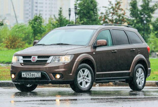 Fiat отзывает в России минивэны Freemont