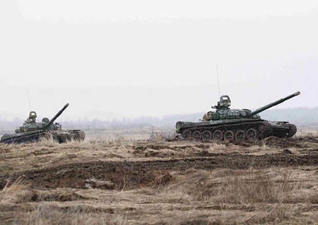 Закончилась контрольная проверка у танкистов армейского корпуса БФ