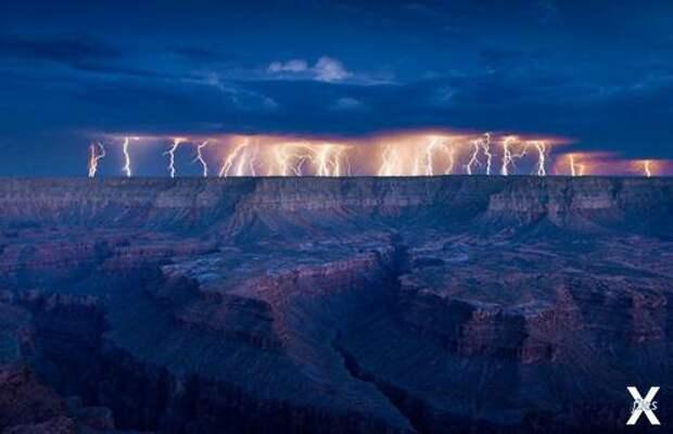 Когда молния бьёт в землю