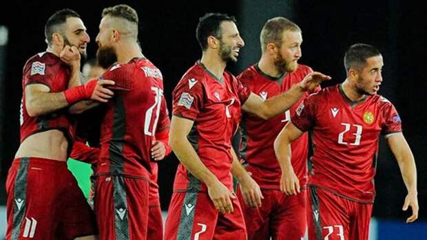 Сборная Армении вырвала победу у Румынии и возглавила отборочную группу ЧМ-2022