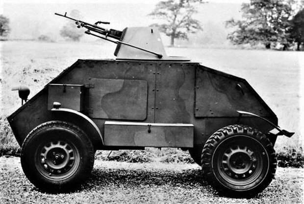 Броневик вместо мотоцикла. Проект Hillman Gnat (Великобритания)