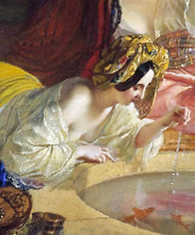 Картина Брюллова «Бахчисарайский фонтан» – одно из ярких свидетельств роли двух гениев в истории