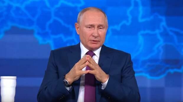 Главный посыл Прямой линии с Владимиром Путиным