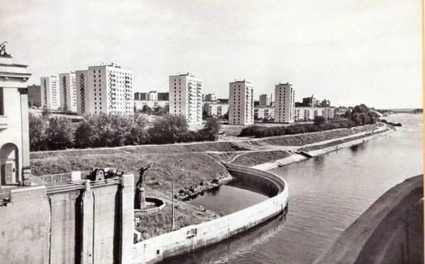Фото дня: вид на шлюз в конце 60–х годов