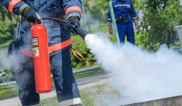 В Бугуруслане на пожаре пострадала пенсионерка