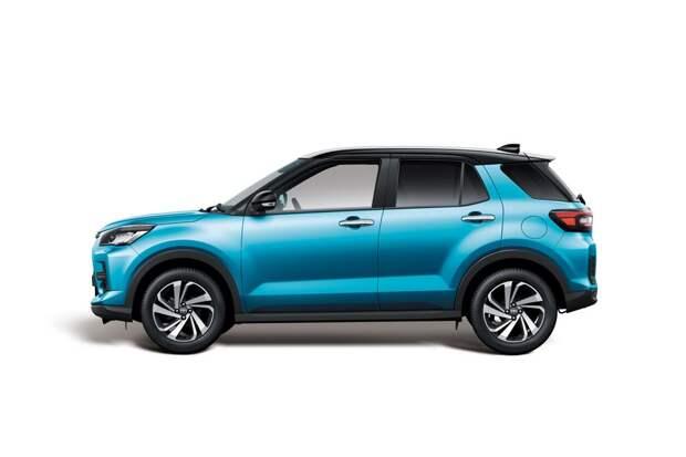 У маленького паркетника Toyota Raize скоро появится ещё один брат: первые фото