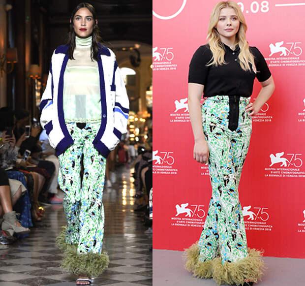 Модная битва: Алекса Чанг против Хлои Грейс Морец