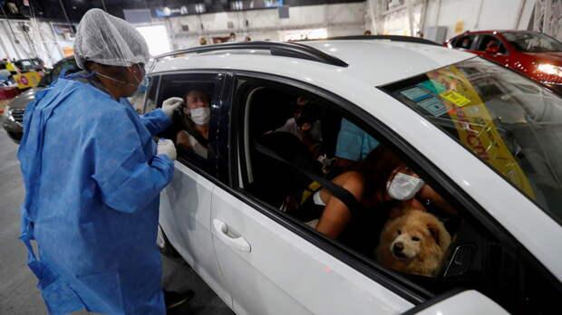 В Аргентине выявили более 25 тысяч случаев коронавируса за сутки