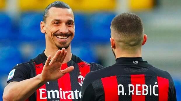 «Милан» выиграл у «Пармы», несмотря на удаление Ибрагимовича