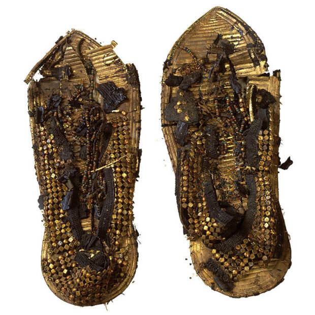 Сандалии, в которых точно ходил фараон.