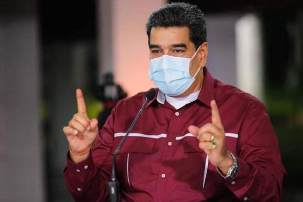 Facebook заблокировал аккаунт президента Венесуэлы Николаса Мадуро