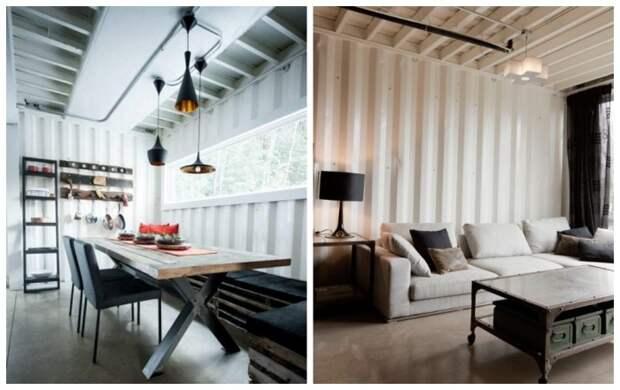 Внутренние стены второго этажа покрасили в белый цвет. | Фото: tamesmobrutal.pt.