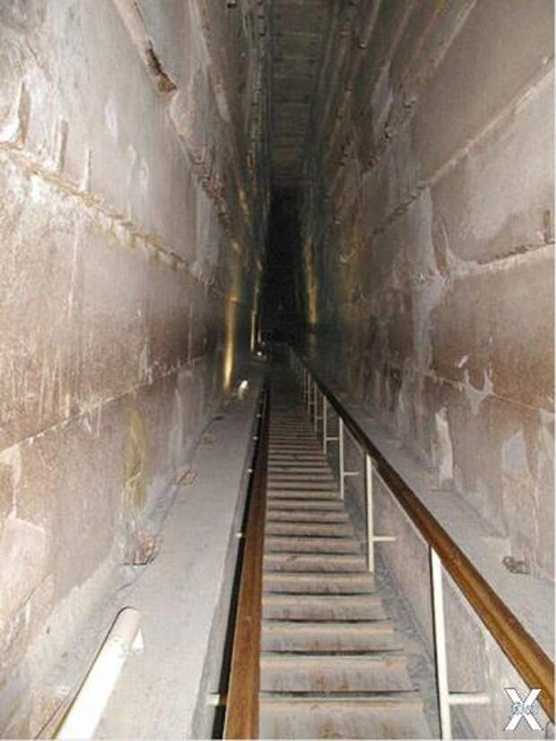Большая галерея в пирамиде Хеопса