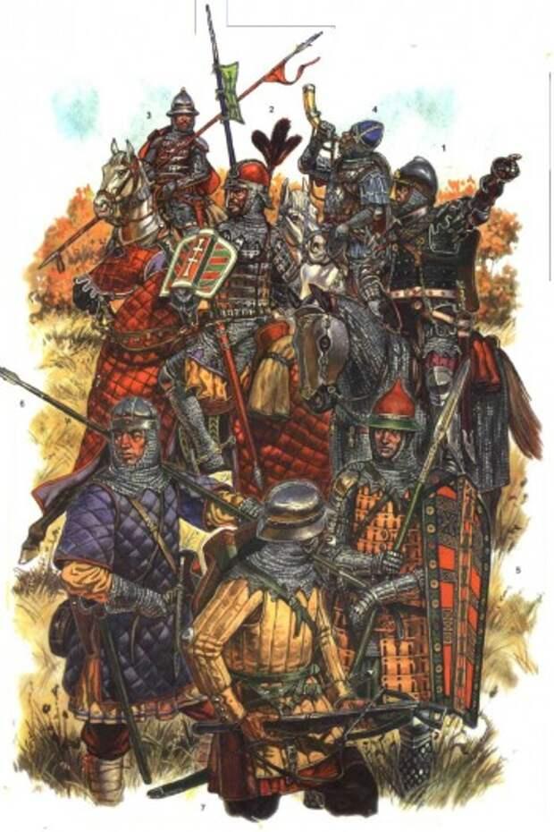 Войско Великого Княжества Литовского в битве при Грюнвальде