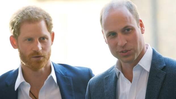 Эксперт по губам расшифровал диалог принца Уильяма и его брата Гарри на траурной церемонии