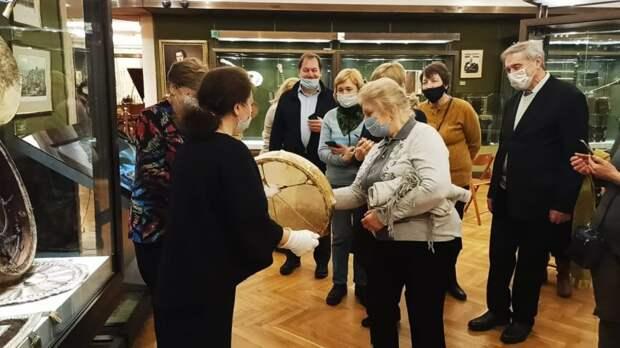 Музей музыки посетили участники «Московского долголетия» ЦСО «Сокол»