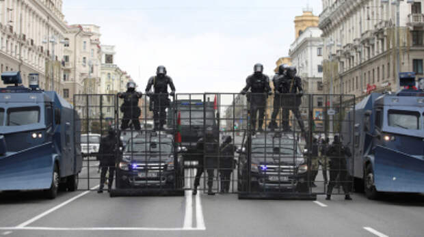 Глава МВД Белоруссии назвал белорусских силовиков самыми гуманными в мире