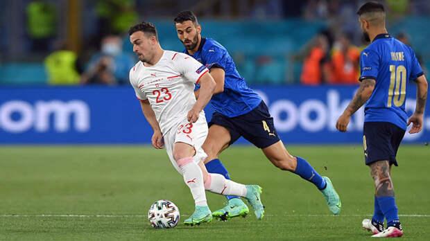 Второй разгром подряд: Италия обыграла Швейцарию со счётом 3:0 на Евро-2020