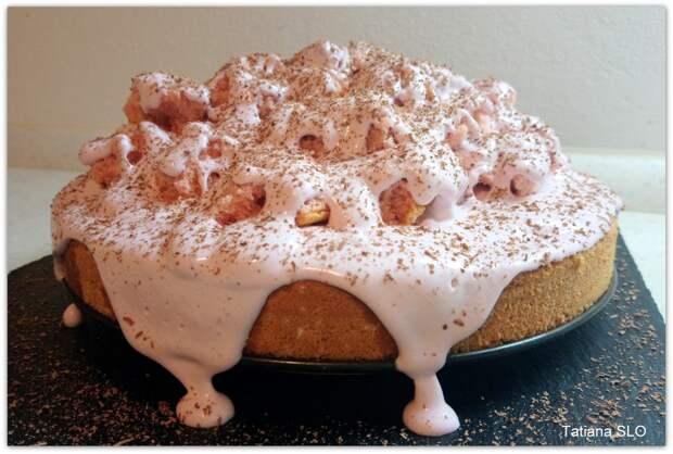 """Вариация на тему торта """"норка крота"""" с вишней"""