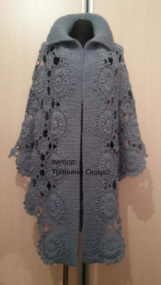 Оригинальное легкое пальто на позднюю весну и раннюю осень: идея для вдохновения 2