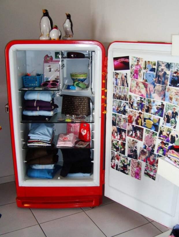 6. Надоели скучные шкафы? Всегда есть креативный выход Фабрика идей, дизайн, интересно, места для хранения, полезно, фото