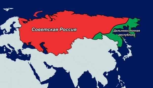 Зачем в начале XX века большевики отделили Дальний Восток от России?