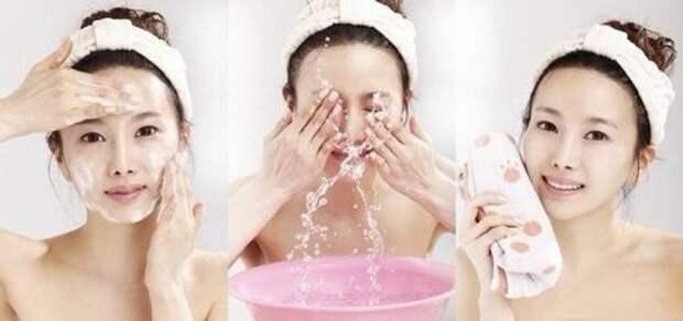 Очищение для корейских женщин самый важный процесс