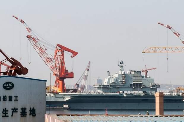 MW: Китай строит верфь для суперавианосца