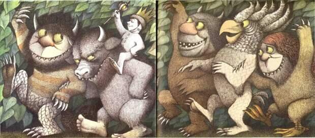 Там, где живут чудовища