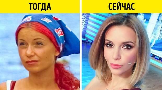 Участники российских реалити-шоу, тогда и сейчас