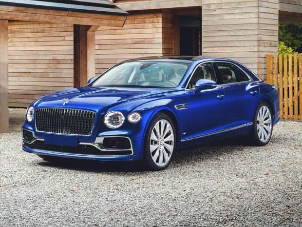 Bentley Flying Spur V8: роскошь, мощь, красота.