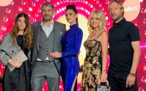 Плющенко и Рудковская пришли на вечеринку в честь юбилея Овечкина: «Братан, для тебя нет ничего невозможного!»